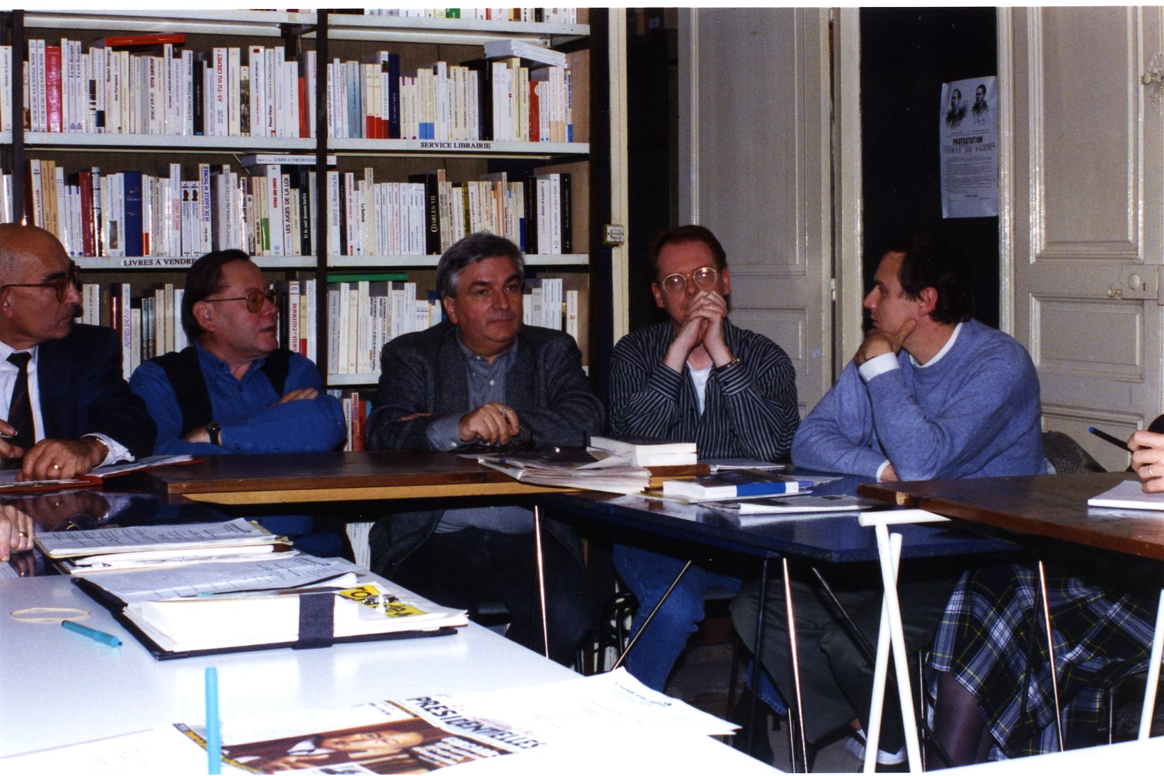 Georges Dorso, Philippe Beaume, Patrick Isambert, Denis Matton, Axel (...)